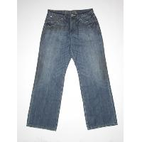 Mens dirty washed jean (frt)