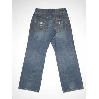 Mens dirty washed jean (bk)