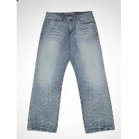 Mens creased hem  jean (frt)
