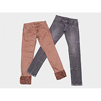 Ladies fancy stretch jeans