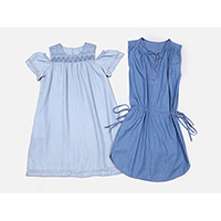 Ladies tencel dresses